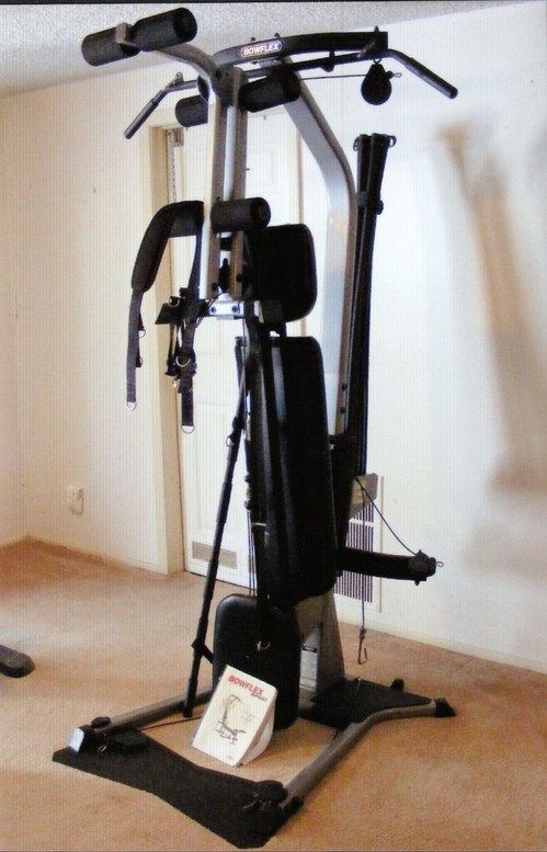 Bowflex sport home gym good condition owner s manual