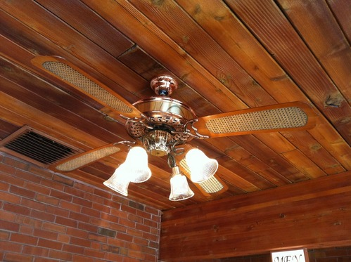Casablanca victorian ceiling fan wood with lights 48 ebay - Victorian ceiling fans with lights ...