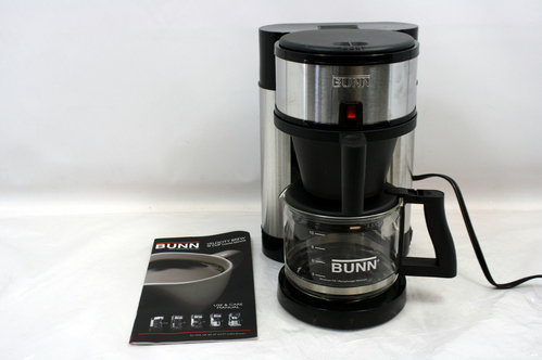 BUNN NHS-B Velocity Brew 10-Cup Home Coffee Maker Brewer