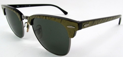 clubmaster glasses ray ban  ray ban rb 3016 983 green