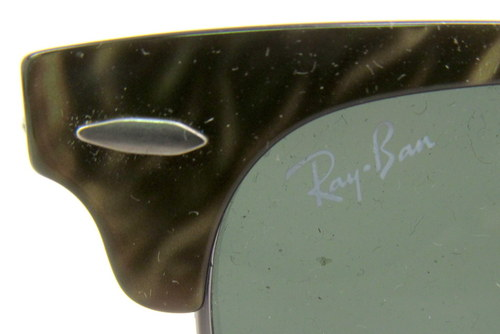 clubmaster ray bans sunglasses  ray ban rb 3016 983 green