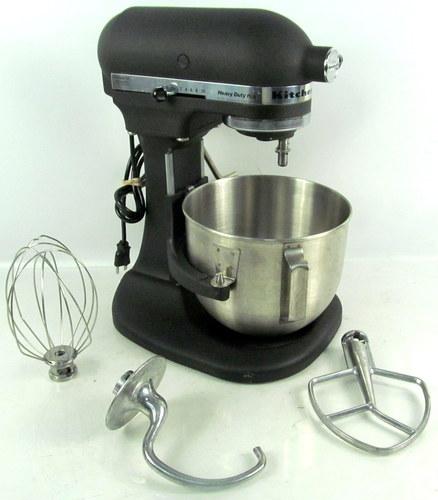 Heavy Duty Kitchen Mixers ~ Kitchenaid heavy duty plus ksm hdpbk speed kitchen