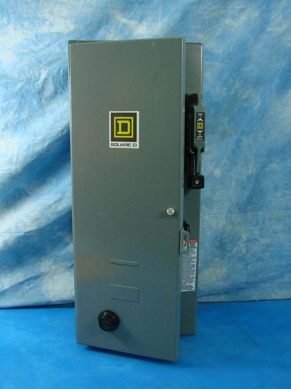 new square d fuse box 8538scg34v02h200s starter motor control new square d fuse box 8538scg34v02h200s starter motor control original box