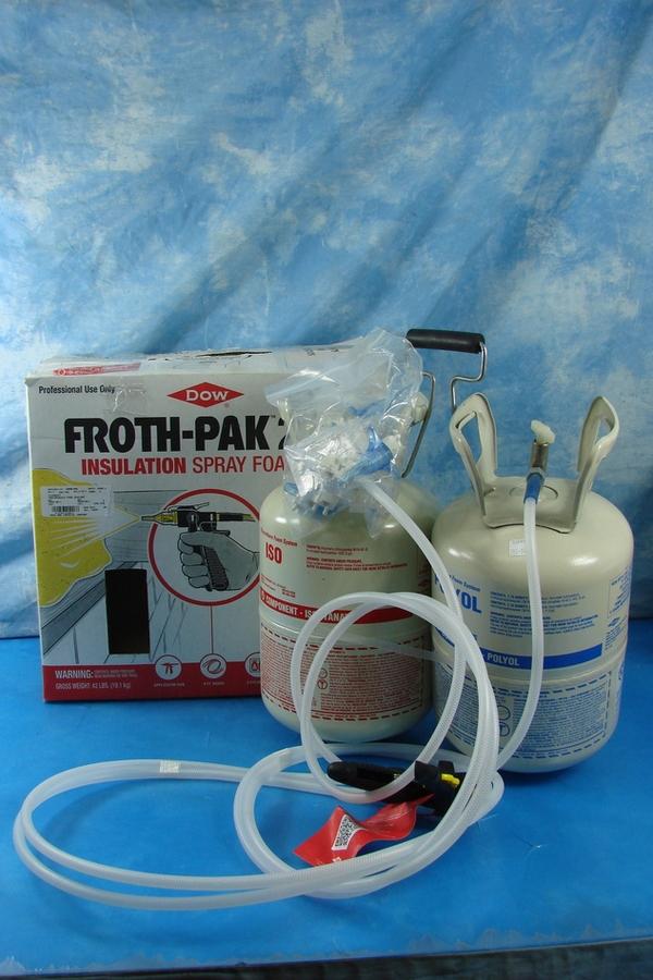 Dow Froth Pak 210 Insulation Spray Foam Kit Exp 10 24 2015