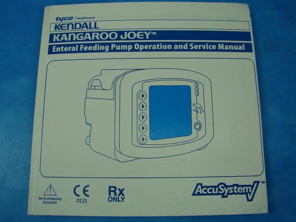 kangaroo joey feeding pump manual
