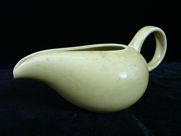 Russel wright american modern by steubenville chartreuse creamer cream pitcher ebay - Russel wright pitcher ...