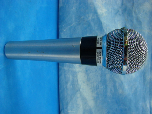 vintage silver shure brothers inc 565sd unisphere i dynamic microphone ebay