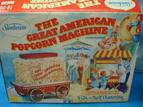 sunbeam popcorn machine