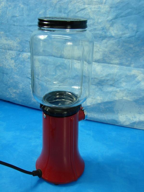 KitchenAid Red Coffee Mill Grinder Glass Model KCG200ER Hopper A 9 Burr A9 Works | eBay