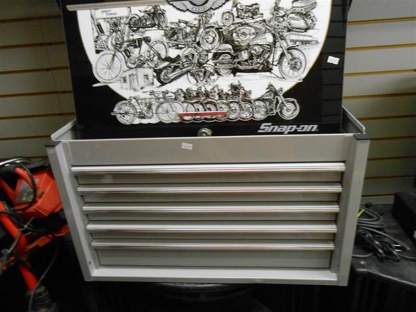 Snap On Harley Davidson Tool Box: Snap-on Limited Edition Harley Davidson Tool Box