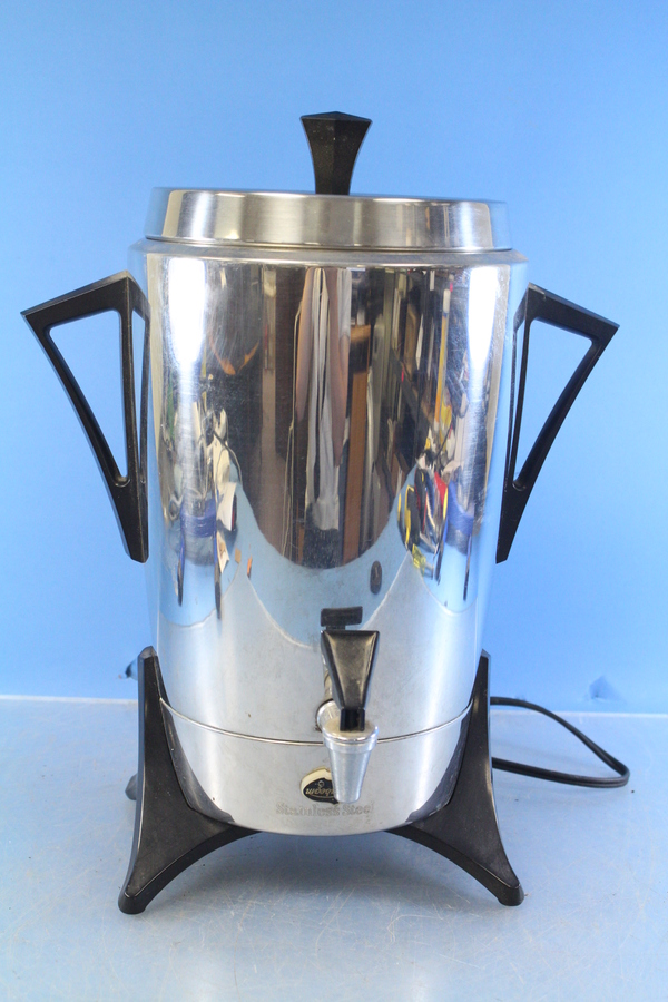 Sunbeam Percolator Coffee Maker : Sunbeam Retro Percolator Stainless Steel Coffee Pot Model AP50 1190 w 120 Volts eBay