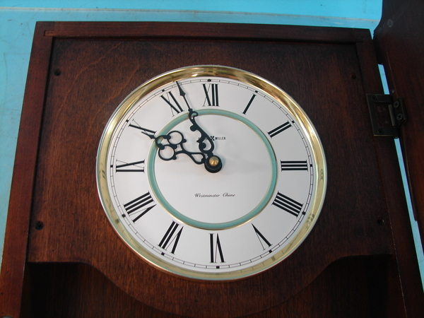 Howard Miller Wall Clock Battery Operated Westminster