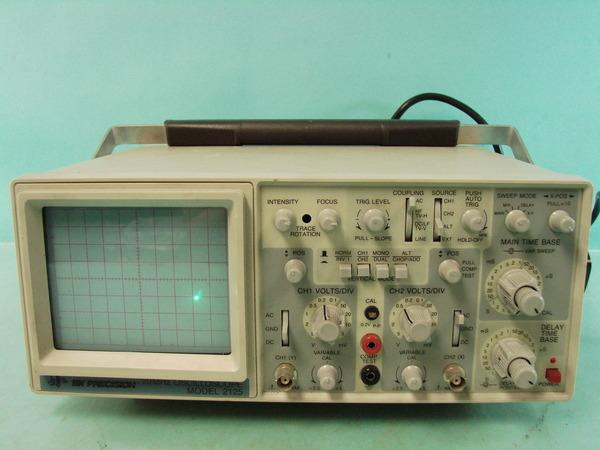 Dual Trace Oscilloscope : Bk precision mhz dual channel trace analog