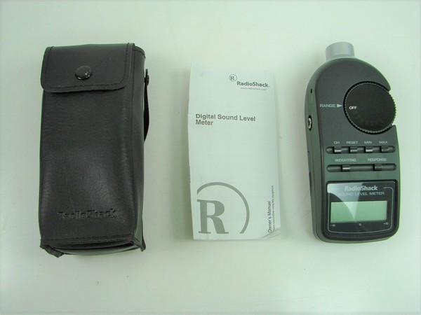 Download Radio Shack Sound Level Meter Owner's …