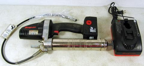 snap on manual grease gun