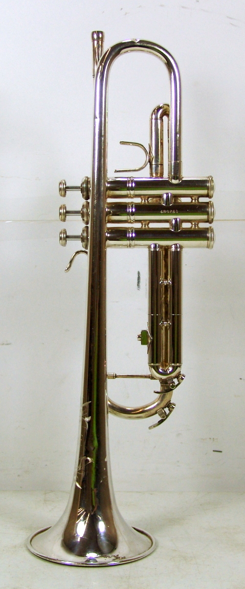 Silver Yamaha Trumpet For Sale