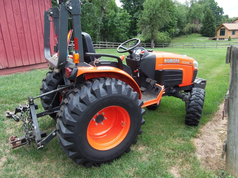 Kubota Mower Accessories : Kubota b su tractor w snow thrower many other