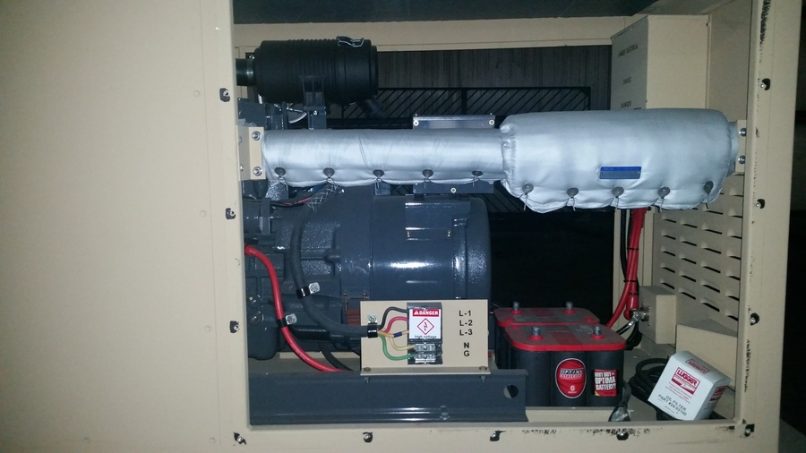 Enclosures For Portable Gasoline Generators : Northern lights nl nw kw lugger diesel generator w