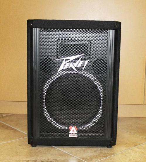 Peavey 112tls speaker floor monitor pa 12 ebay for 12 floor speaker