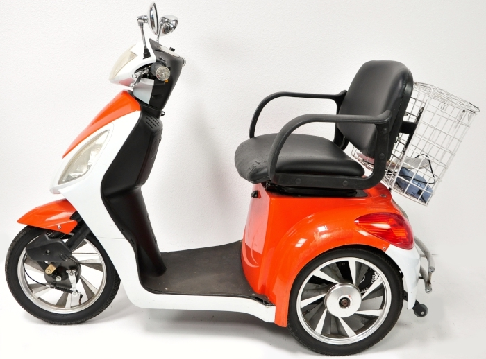 how to build a 60 mph mobility scooter