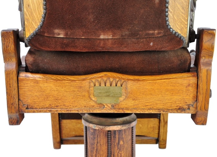 Koken barber chair serial number - Antique Koken Barber Chair Talcum Brush Model Talc Art