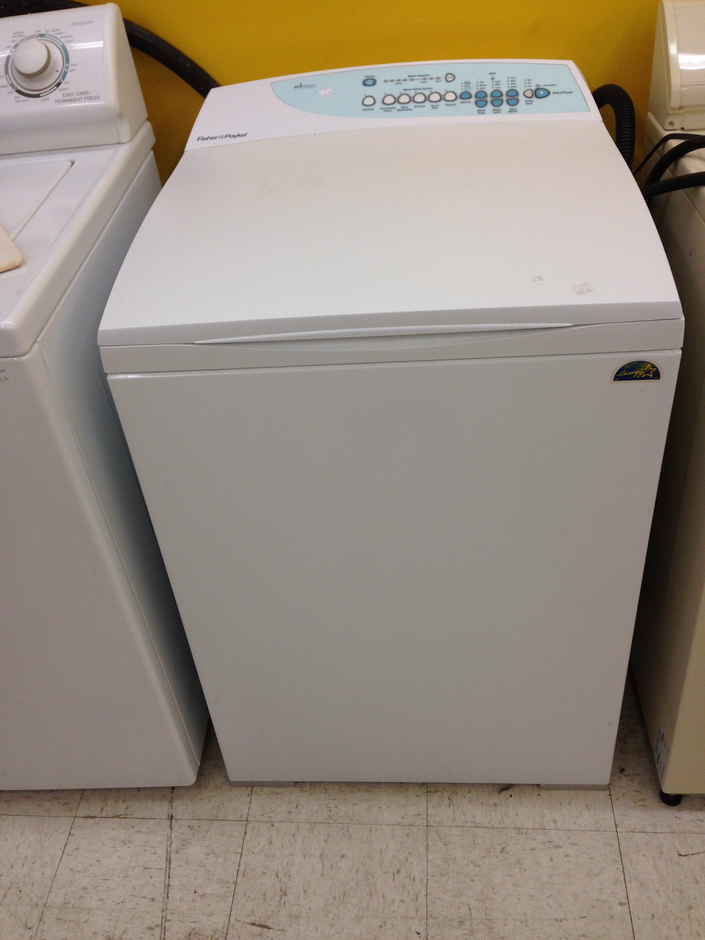 Fisher & Paykel Top Loading Eco-smart Energy Star Washer