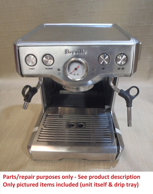 Breville Coffee Maker Replacement Parts : Breville Refurbished XXBES830XL Espresso Machine Shipping Damage Parts Repair eBay