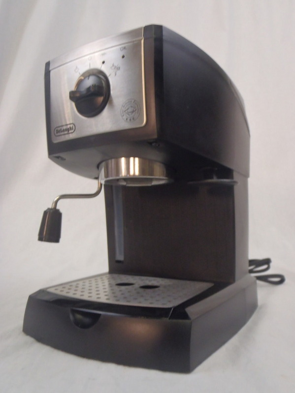 De Longhi EC155 15 Bar Pump Espresso and Cappuccino Maker Used eBay
