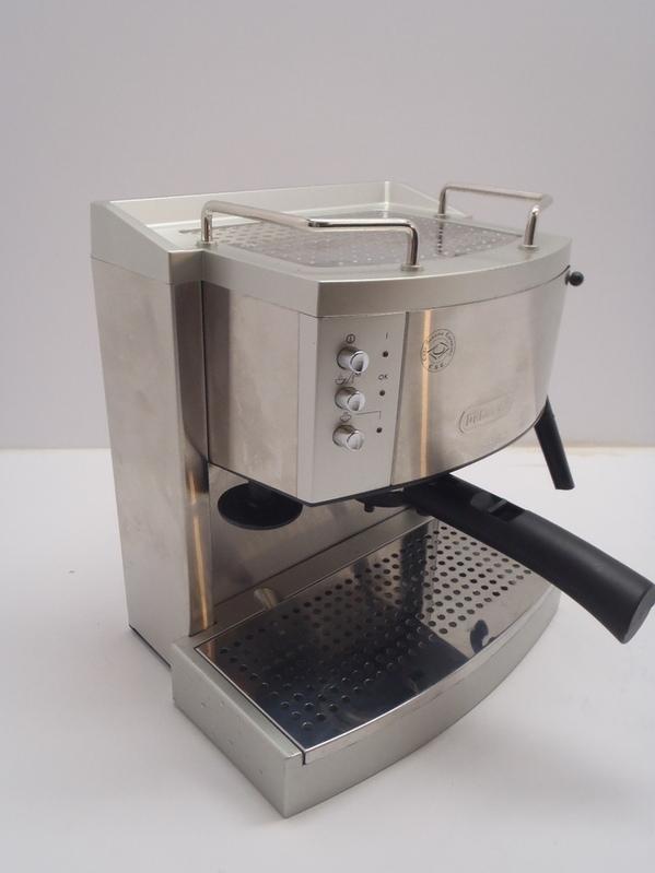 DeLonghi EC702 15 Bar Pump Espresso Maker Stainless No spoon eBay