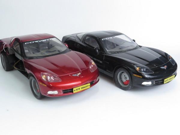 New bright rc corvette cars radio control model no remote lot