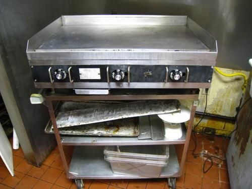 Star Commercial Griddles For Restaurants ~ Star quot thermostatic countertop gas grill griddle