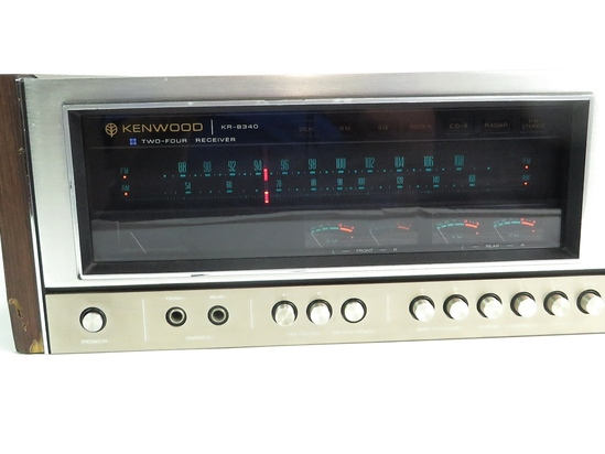 Kenwood KR-8340 Two-Four Receiver Amplifier Amp (as-is ...