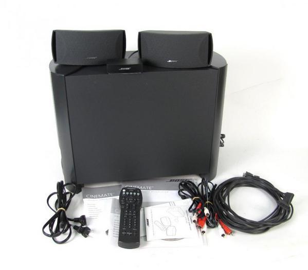 cinemate digital home theater speaker system manual