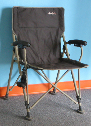 Maccabee Army Green Camp Chair With Carry Bag