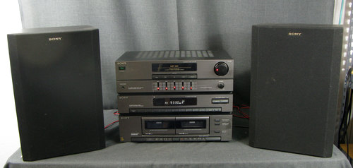 Vintage Sony Stereo System Hst