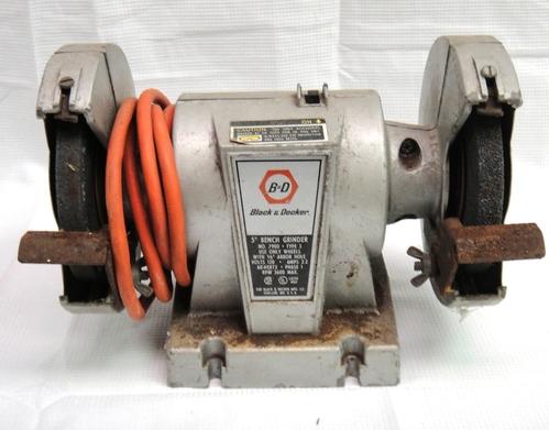 Black And Decker 5 Bench Grinder No 7900 Ebay