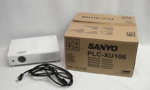 sanyo pro xtrax multiverse media projector plc xu106 in
