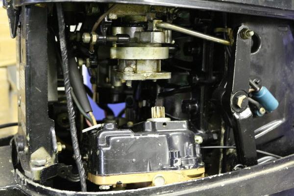 Mercury 500 Partially Rebuilt 50hp Outboard Boat Motor