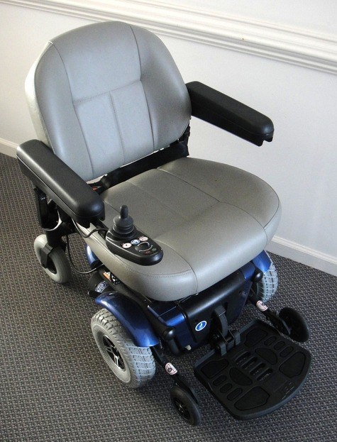 Jet 3 Power Wheelchair : Pride jet electric wheelchair power mobility chair blue
