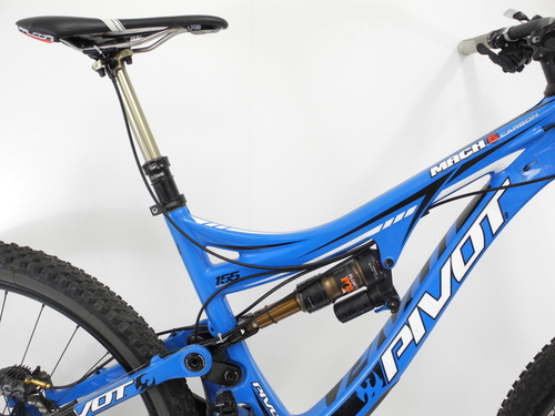 2015 Pivot Cycles Mach 6 Carbon Full Suspension Mountain