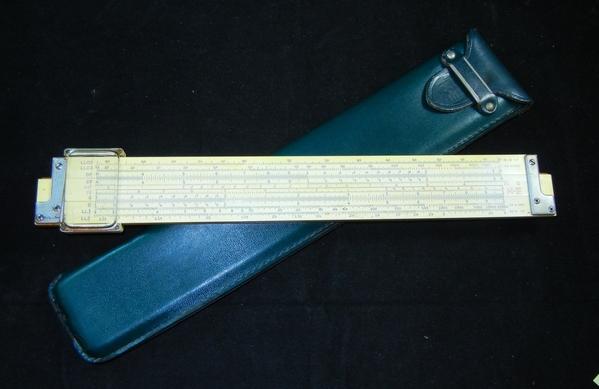 VTG 1947 K&E KEUFFEL & ESSER SLIDE RULE 4081-3 LOG LOG ...