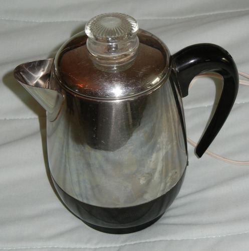 Vintage Farberware Pot Belly Coffee Percolator 8 Cup Rare Early Version 134 eBay
