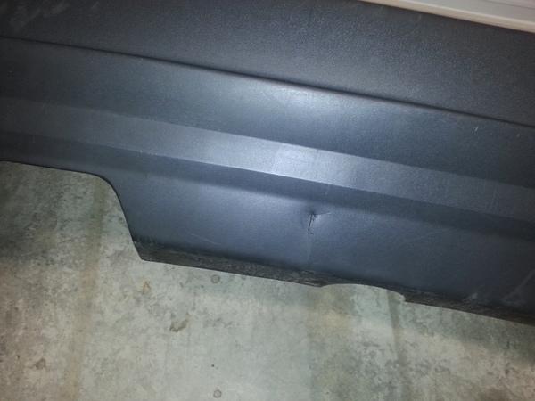 03 06 Volvo Xc90 Rear Bumper Cover Assy W O Backup Ebay