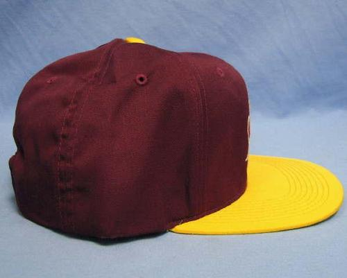 asu sparky the sun light up hat baseball cap with
