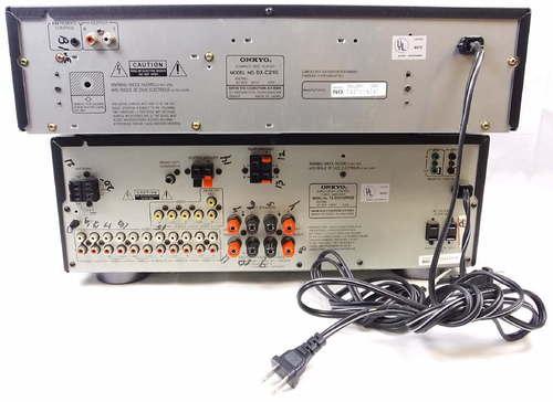 onkyo audio video control tuner amplifier r1 manual