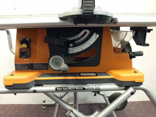ridgid portable table saw manual