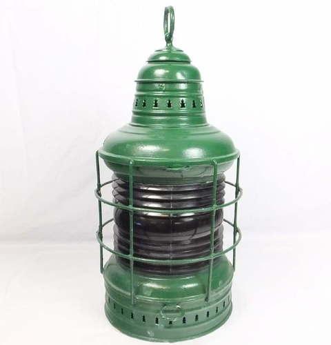 Antique Perko Navigation Lights Vintage Authentic Naval: Antique Perko Marine Lantern Lamp Light Ship Mast Head W
