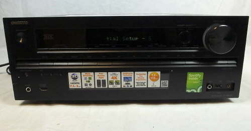 onkyo tx nr616 av audio home theater stereo receiver 7 2 channel 411378262233 ebay