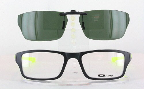aftermarket oakley lenses 45wd  Custom Fit Polarized CLIP-ON Sunglasses For Oakley CHAMFER OX8039 53x18  8039  eBay