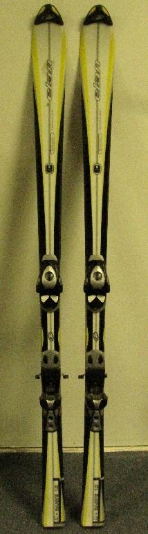 Used elan carve skis cm w salomon s bindings